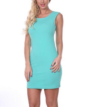 Mint Sheath Dress