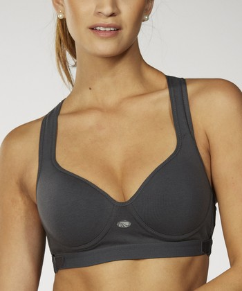 Carbon Smooth Shaping Uplift Sports Bra