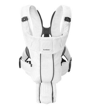 White Active Mesh Baby Carrier