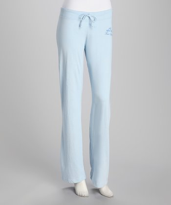 Light Blue 'Free Spirit' Yoga Pants - Women