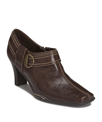 Dark Brown Fascination Bootie