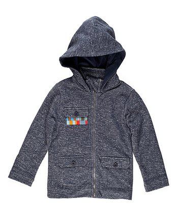 Midnight French Terry Hooded Jacket - Toddler & Boys