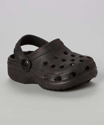 Chatties Black Clog