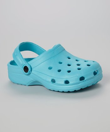Chatties Turquoise Clog