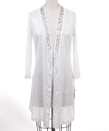 Dolce Cabo Ice Linen Open Cardigan - Women