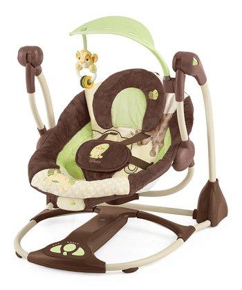 Brown & Beige Disney's Lion King Portable Swing