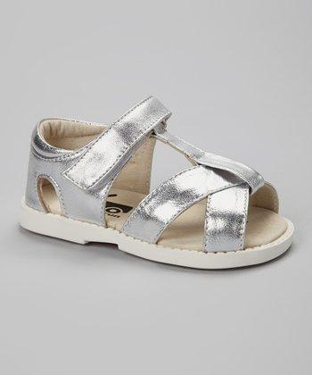 See Kai Run Silver Everly Sandal