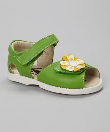 See Kai Run Green Irina Sandal