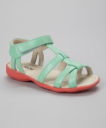 See Kai Run Mint Harper Sandal
