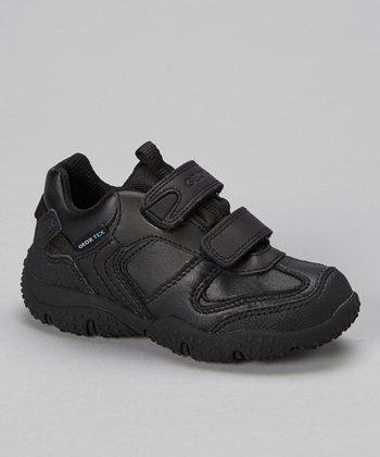 Geox Black Jr Baltic Sneaker