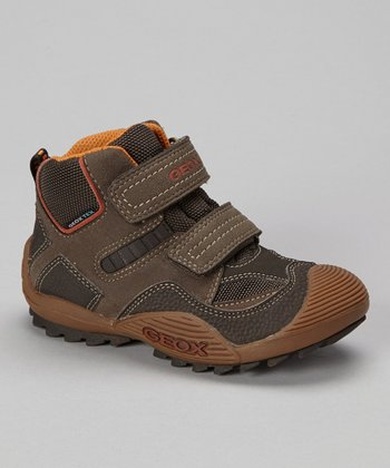 Brown & Orange Jr Savage Hiking Boot
