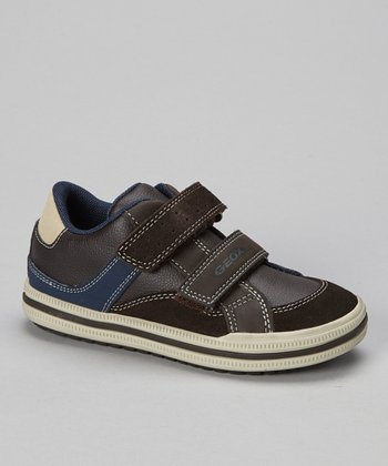 Brown & Navy Jr Elvis Sneaker