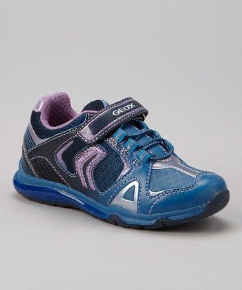 Geox Navy & Sky Jr Magica Sneaker