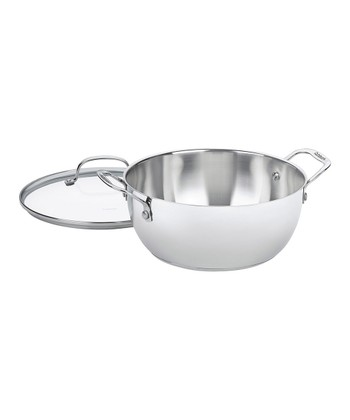 Chef's Classic Stainless Steel 5.5-Qt. Covered Multi-Purpose Pot