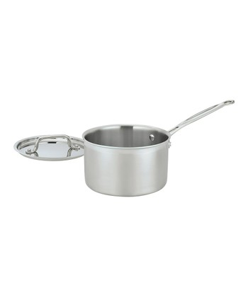 Multiclad Pro Triple-Ply Stainless Steel 3-Qt. Covered Saucepan