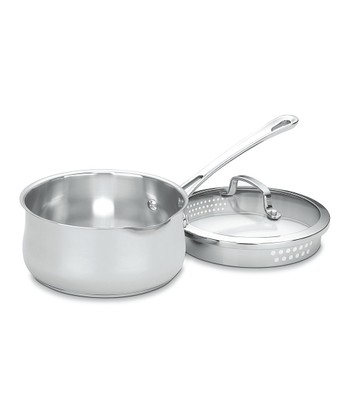2-Qt. Stainless Steel Covered Saucepan