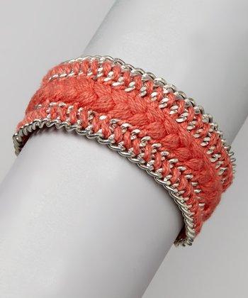 ZAD Coral Chain Braided Bracelet