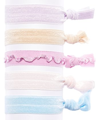 Bel Fiore Purple & Blue Ombré Hair Tie Set