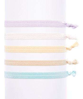 Bel Fiore Lavander & Pink Headband Set