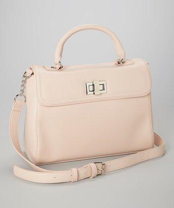 Capelli New York Blush Turnlock Shoulder Bag