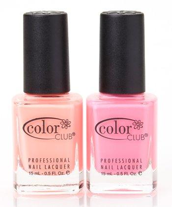 Flamingo & East Austin Nail Polish Set
