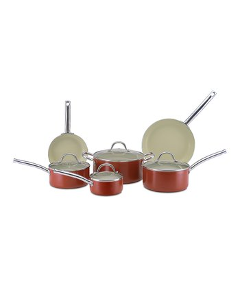 Rust Earth 10-Piece Cookware Set
