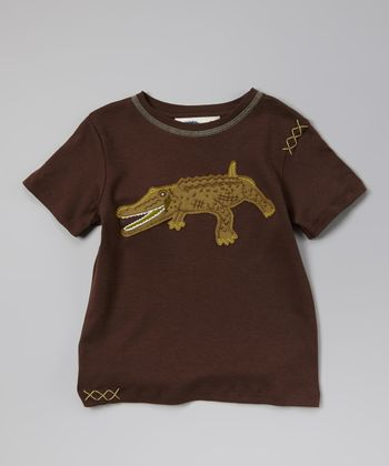 Shopping Bag Crocodile Tee - Toddler & Boys