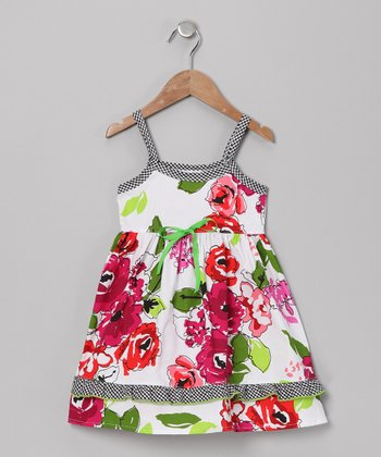 White Lizzy's Island Organic Lily Dress - Infant & Toddler