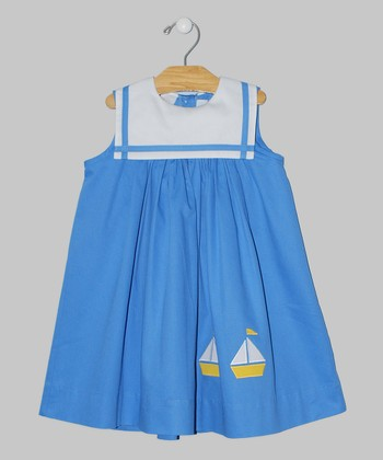Blue Sail Babydoll Dress - Infant & Toddler