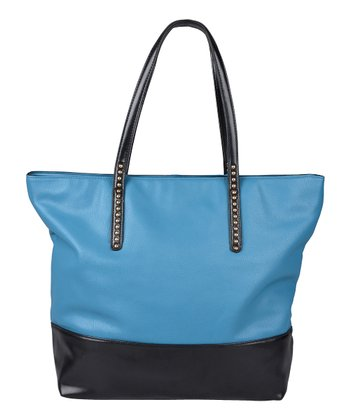 Blue Oversize Tote Bag