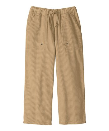 Sandstone Carefree Corduroy Pants - Infant, Toddler & Boys
