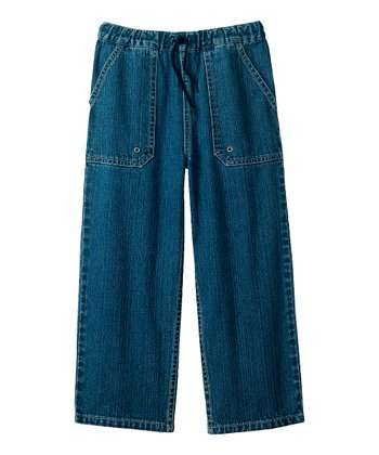 Washed Indigo Carefree Jeans - Infant, Toddler & Boys
