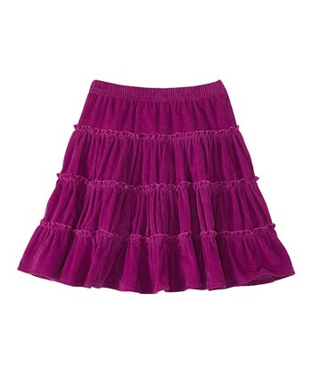 Berry Mix Twirly Corduroy Skirt - Infant, Toddler & Girls