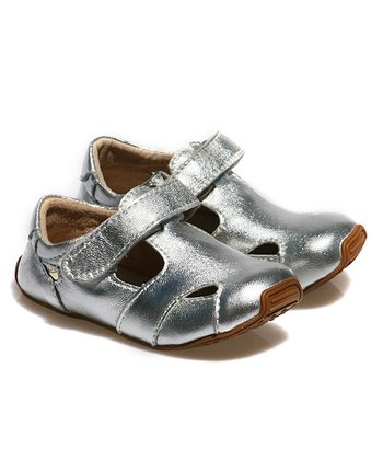 Silver Junior Sunday Leather Shoe