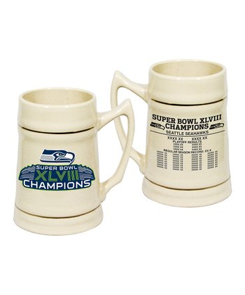 Seattle Seahawks Ceramic Stein