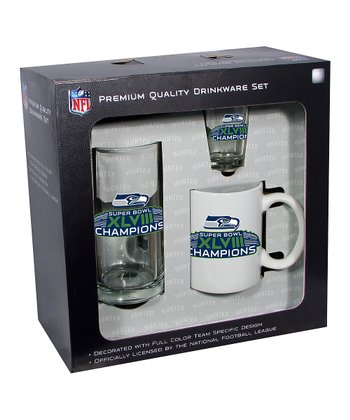 Seattle Seahawks 'Champions' Fan Set