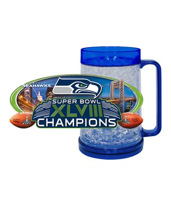 Seattle Seahawks 'Champions' Freezer Mug