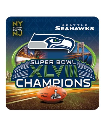 Seattle Seahawks 'Champions' Coaster - Set of Four
