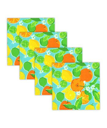 Citrus Splash Napkin - Set of Four
