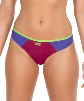 Panache Raspberry Sports Thong - Plus