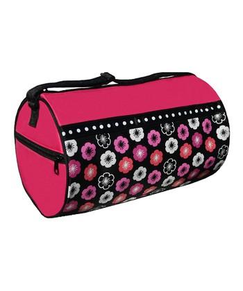 Hibiscus Flower Power Duffel Bag