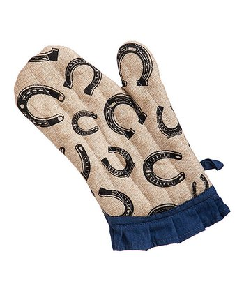 Giddy Up Oven Mitt