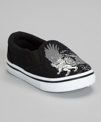 Black & Gray Eagle Sneaker