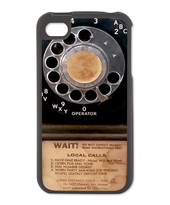 Vintage Pay phone Case for iPhone 4/4s