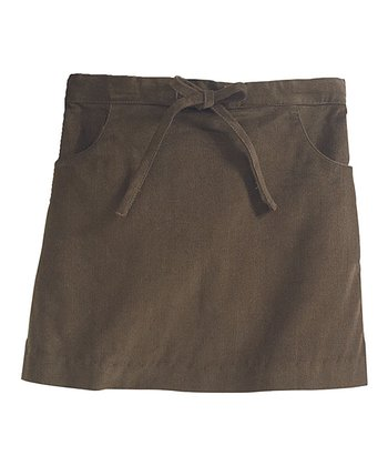 Chocolate A-Line Skirt - Toddler & Girls