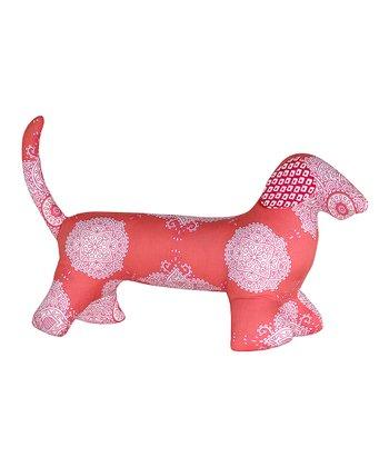 Masala Baby Coral Kolam Dog Plush Toy