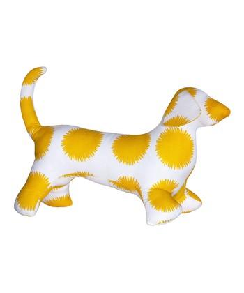 Masala Baby Yellow Marigold Dog Plush Toy