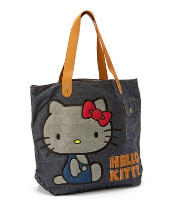 Hello Kitty Denim Vintage Tote