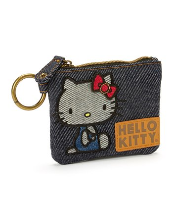 Hello Kitty Denim Vintage Coin Purse
