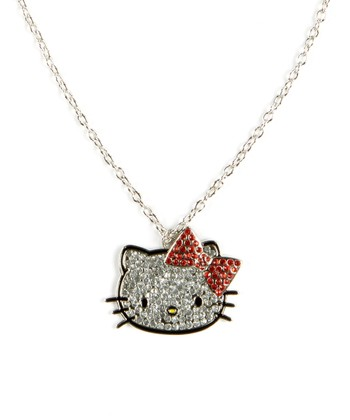 Hello Kitty 3-D Bow Necklace